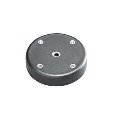 Magnetfuss für ROCIA Gelenkkopfleuchten schwarz