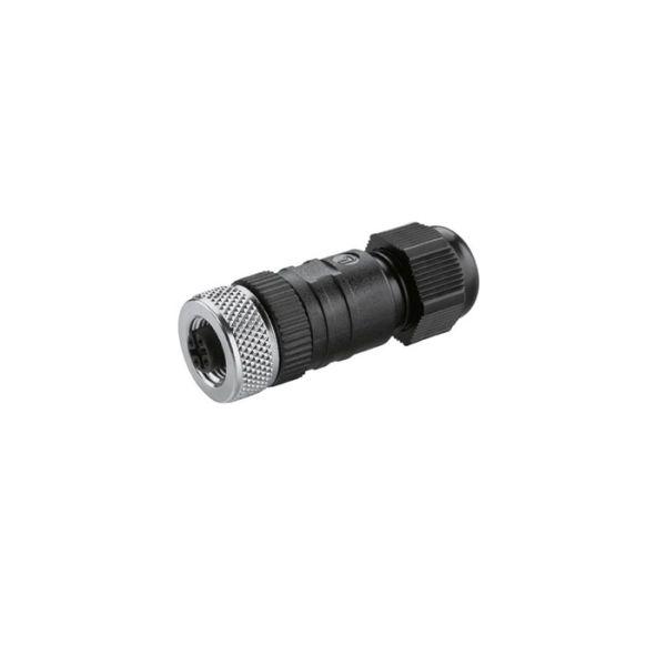 Anschlussbuchse Kabeldurchlass 6 - 8 mm, Adern ≤ 1,5 mm²