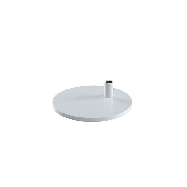 Tischfuß rund weiß